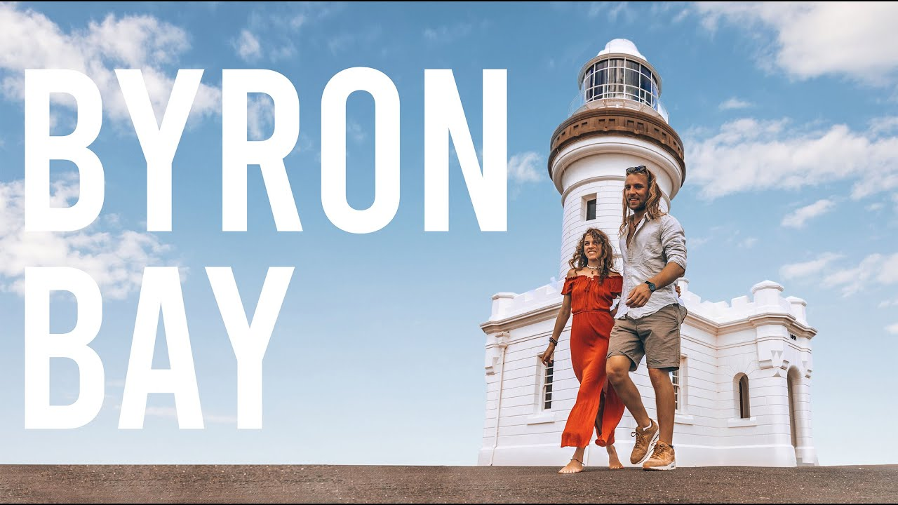 One day in BYRON BAY,  our favourite Town in AUSTRALIA.
