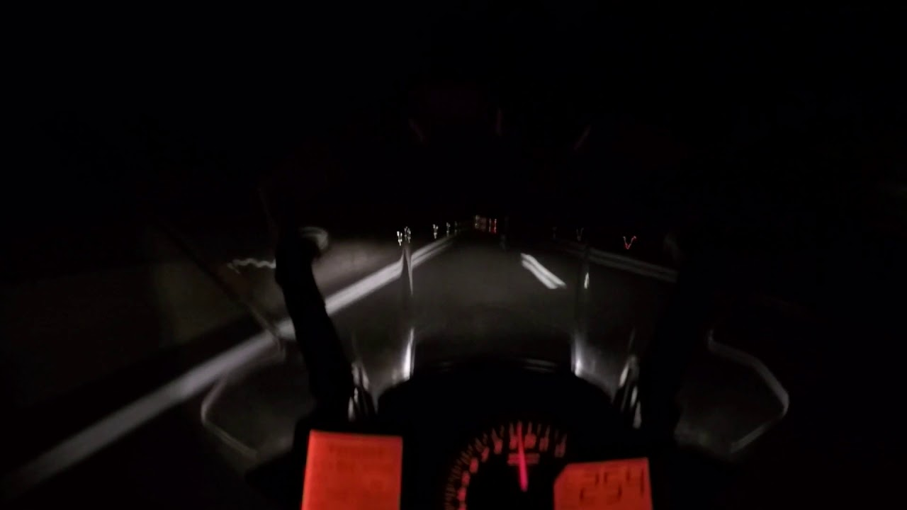 ktm 1190 adv at night* top speed * - youtube