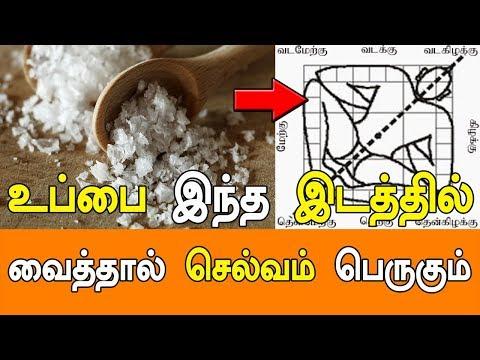 உப்பை இந்த இடத்தில் வைத்தால் செல்வம் பெருகும் - MANTHRIGAM SITHAR - VASIYAM SARVALOGAM