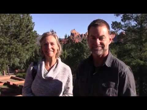 Stephanie and Val Westover Love Sedona Marketing Retreats - YouTube