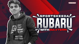 Sportskeeda Rubaru with Maxtern |Maxtern shares journey & gives tips on becoming a youtuber | PUBGM