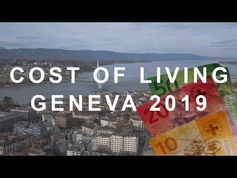 Cost of living in Geneva (Switzerland)