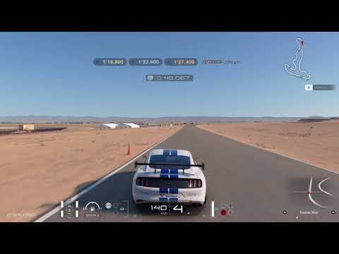 Gran Turismo Sport Circuit Experience Willow Springs Streets of Willow Springs Gold Lap Attack
