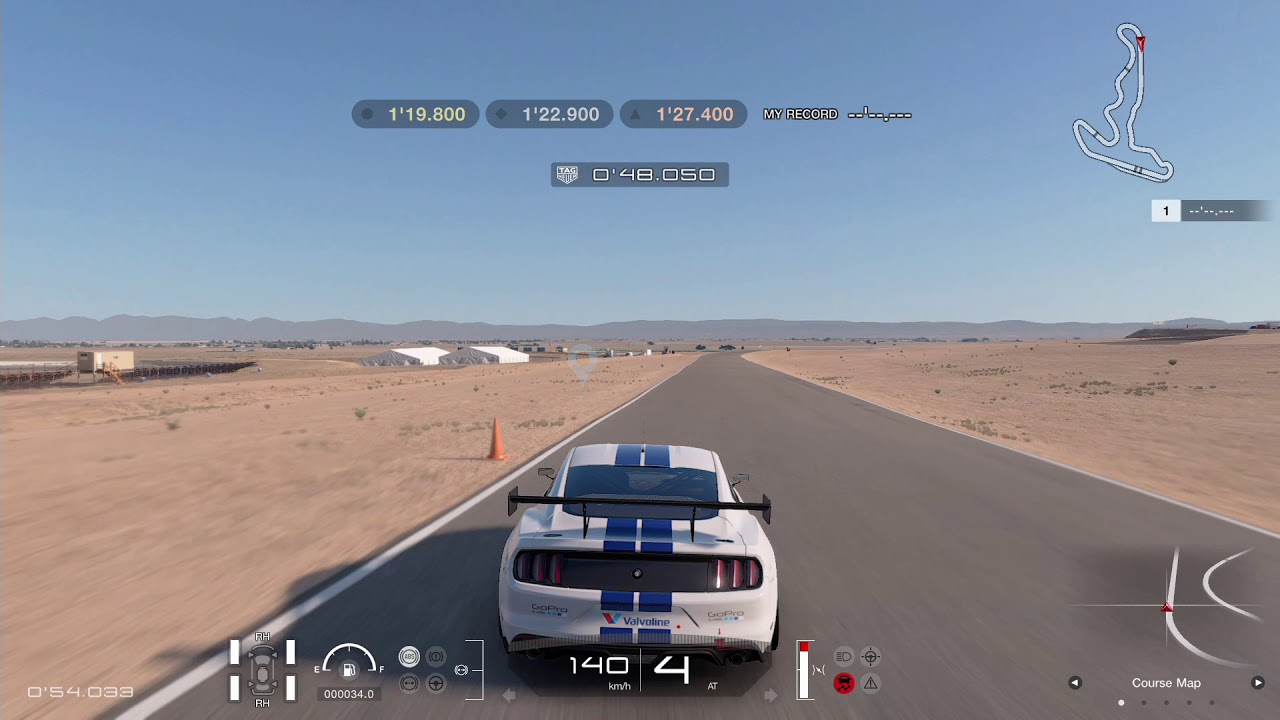 Streets Of Willow >> Gran Turismo Sport Circuit Experience Willow Springs Streets Of Willow Springs Gold Lap Attack