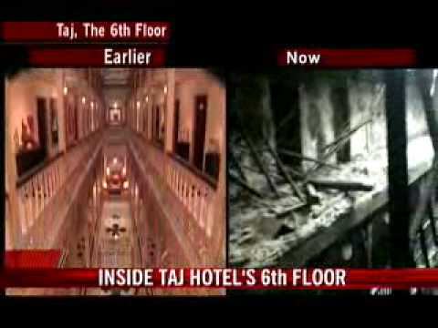 Taj 6th floor: Before & after terror attack