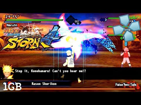 Naruto Kizuna Drive Mod The Last+Gameplay-nya