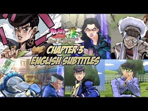 JoJo's Bizarre Adventure: Eyes of Heaven - Story Mode Chapter 3: Diamond is Unbreakable [Eng Subs]
