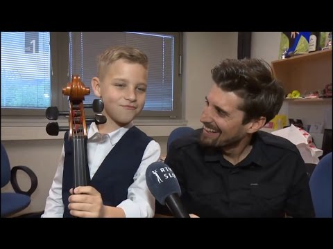 Luka Šulić performed at charity concert