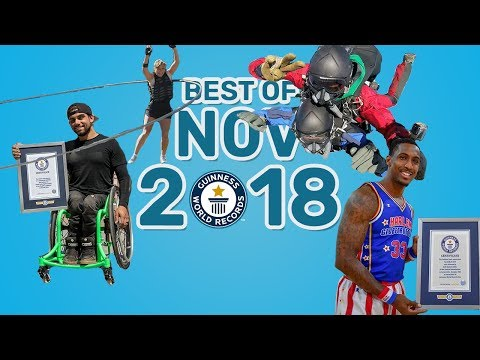 Best of November 2018 - Guinness World Records
