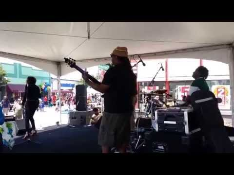 Kimiko Joy + Rub-a-Dub Posse LIVE @ Laurel District Fair 2014