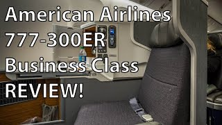 American Airlines 77W Business Class Review DFW-LHR