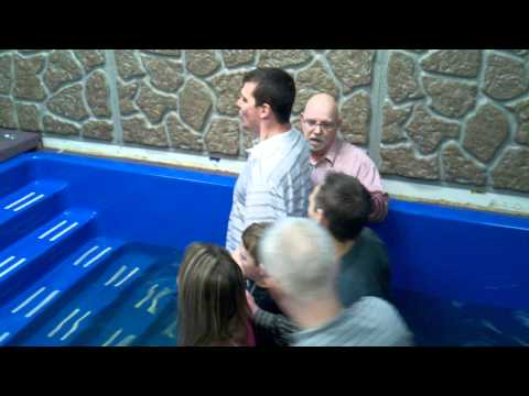 Chad Grigsby Gets Baptized 1/29/2012