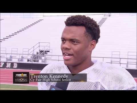 Memorial Herman Athlete Of The Week   E8   Trenton Kennedy