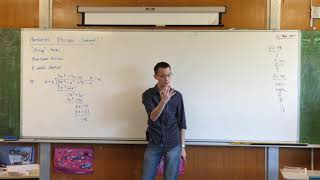 """Polynomial Division (1 of 3: How do I deal with """"missing"""" terms?)"""