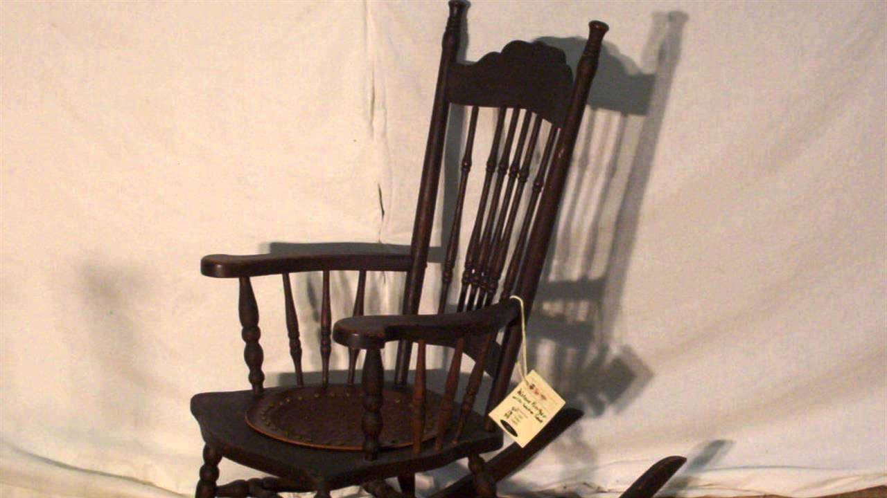 Charmant HOW TO : Restore Leather Seats On Antique Chairs   YouTube