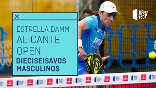 Resumen dieciseisavos de final (turno 1) Estrella Damm Alicante Open 2021 | World Padel Tour