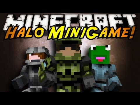 Minecraft Mini-Game : HALO!