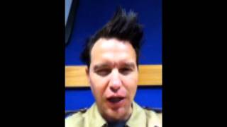 98FM Celebrity Beatbox - Mark Hoppus from Blink 182