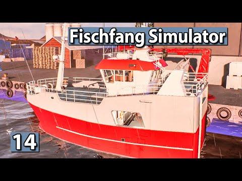 Fischfang Simulator 🐟 NEUES SCHIFF Vibeke Cathrin ► #14 Fishing Barents Sea Lets Play deutsch