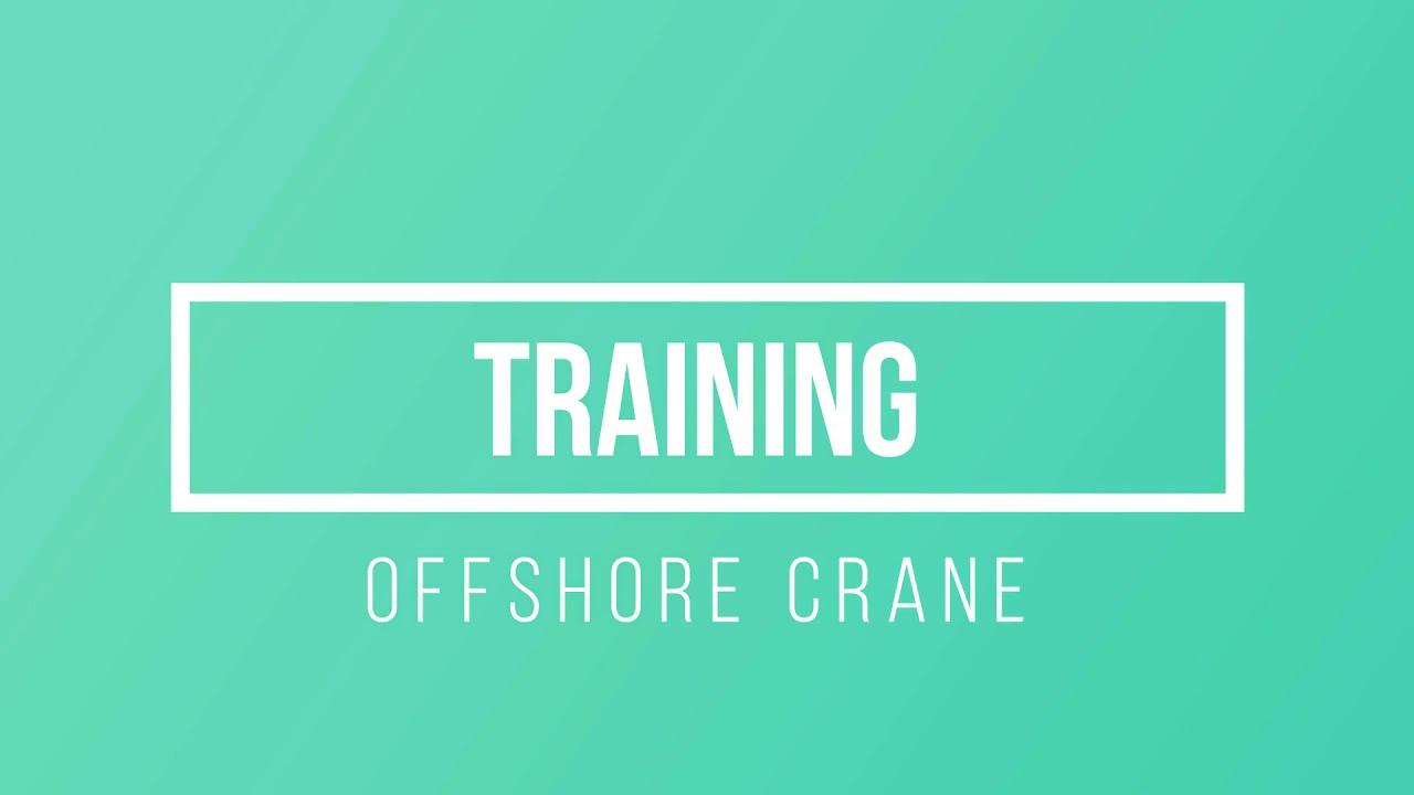 OffShore Crane Institute India, Rig Crane Courses, Mobile Crane
