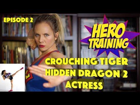 Crouching Tiger Hidden Dragon 2 Actress Juju Chan  Hero Training Episode 2