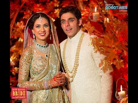 arjita anshul wedding band baaja bride ndtv goodtimes sabyasachi
