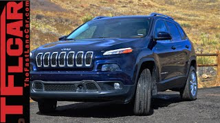2015 Jeep Cherokee Limited Quick Pics: AWD Alien Style that Sells Big