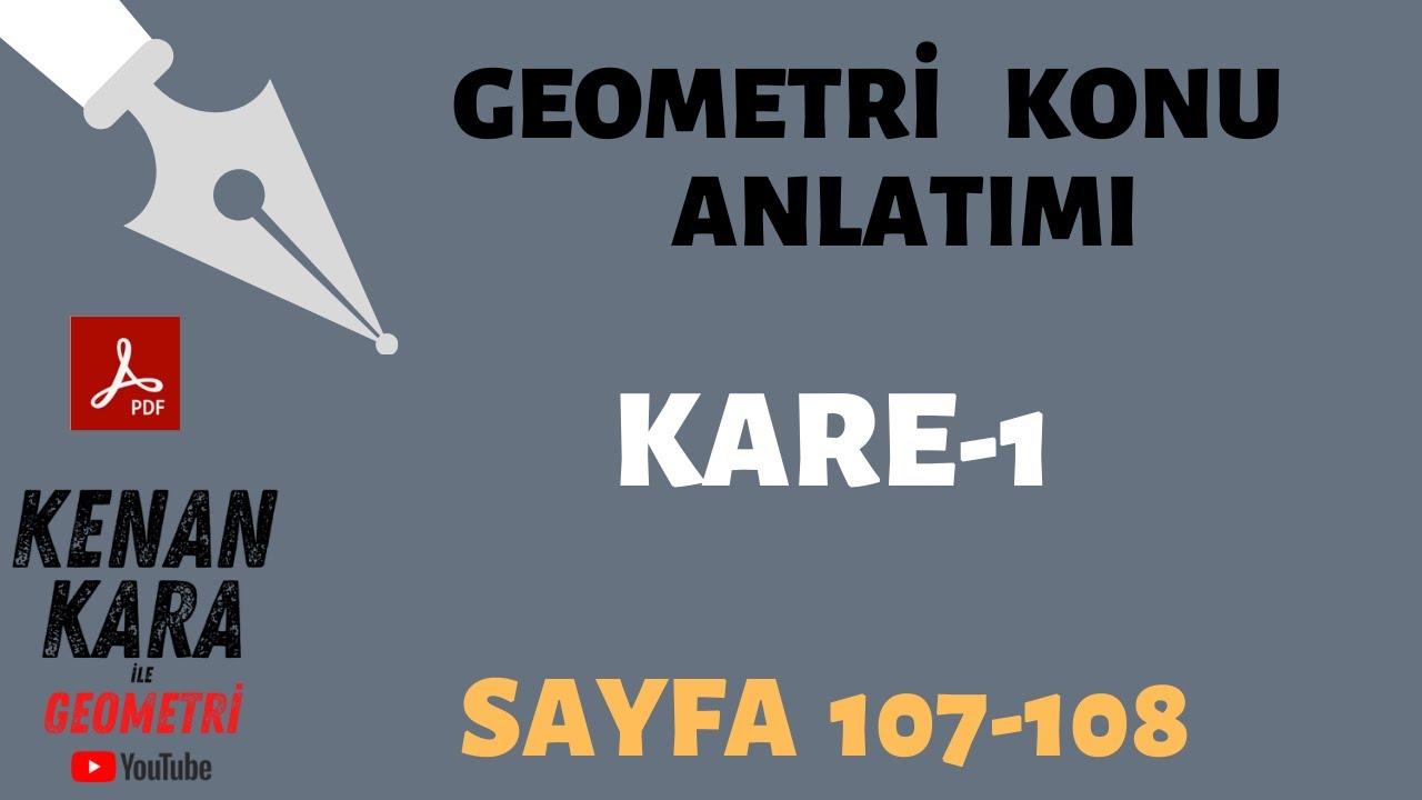 Kare-1 (Konu anlatımı)