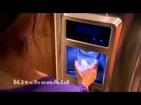Good Kitchen Aid Refrigerators Counter Depth French Door Video