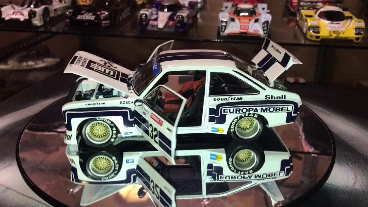 MINICHAMPS FORD ESCORT II RS 1800cc Klaus Ludwig DRM 1976 EUROPA ...