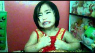 3-year old girl crying over justin bieber