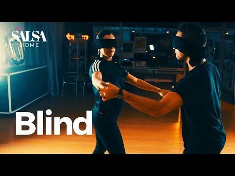 FEEL your Dance Partner  - BLINDFOLD SALSA EXERCISE
