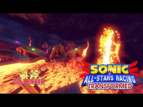 Sonic & All-Stars Racing Transformed vs Bots  - Adder's Lair ( Team Fortress ) |