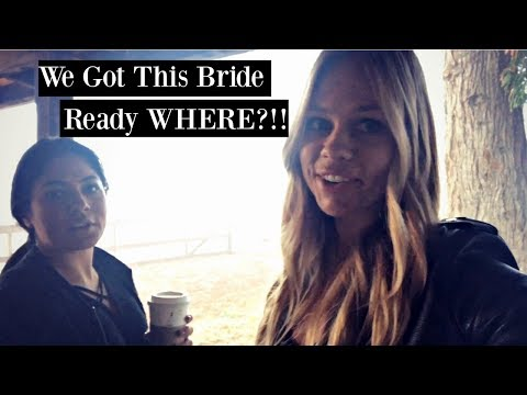VLOG: Hair & Makeup for a Bride in a Crazy location PLUS Airshow with the family