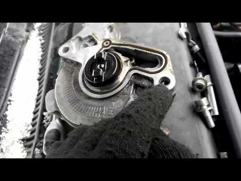 Тандемный насос снятие и ремонт