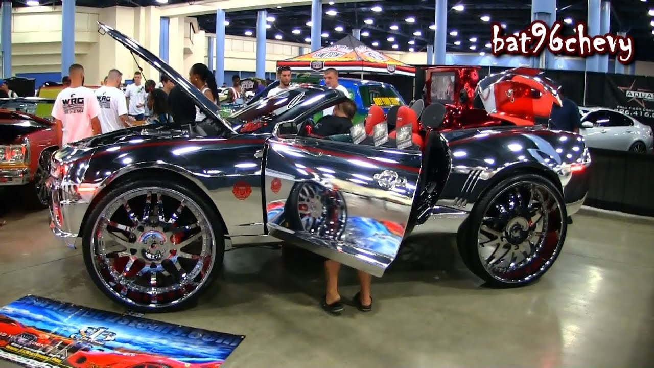 Custom Chrome Camaro Ss On 32 Quot Forgiatos 1080p Hd Youtube