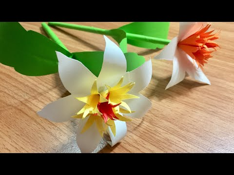 DIY | How to make flower with printer paper | paper flower | DIY-Beauty Of Paper