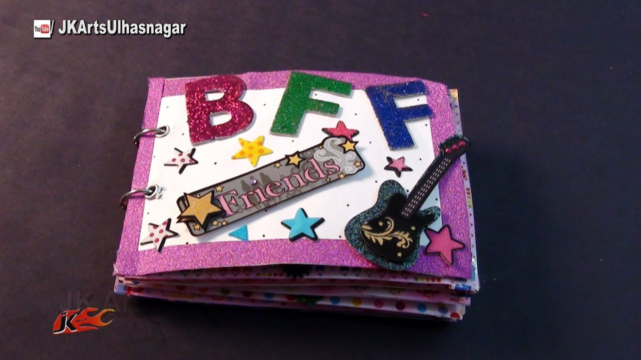 How To Make A Scrapbook For Best Friend