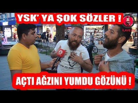 YSK'YA ŞOK SÖZLER ! YSK ve Anadolu Ajansına Güveniyor Musunuz ?