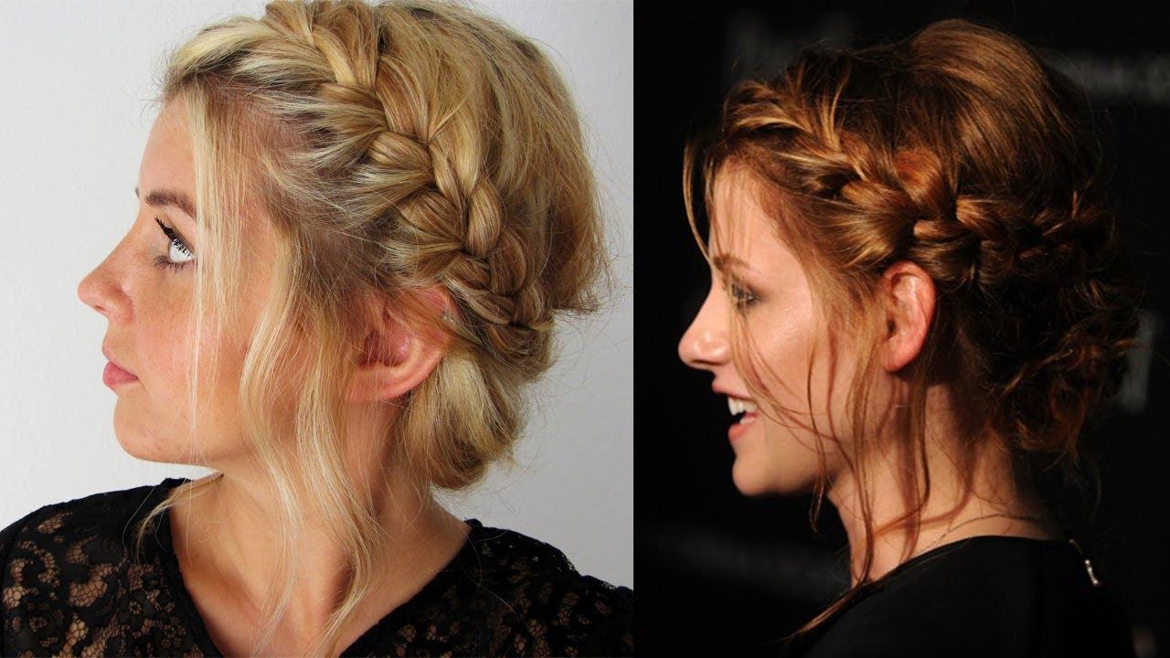 Kristen Stewart Updo Hochsteckfrisur Frisuren Freitag