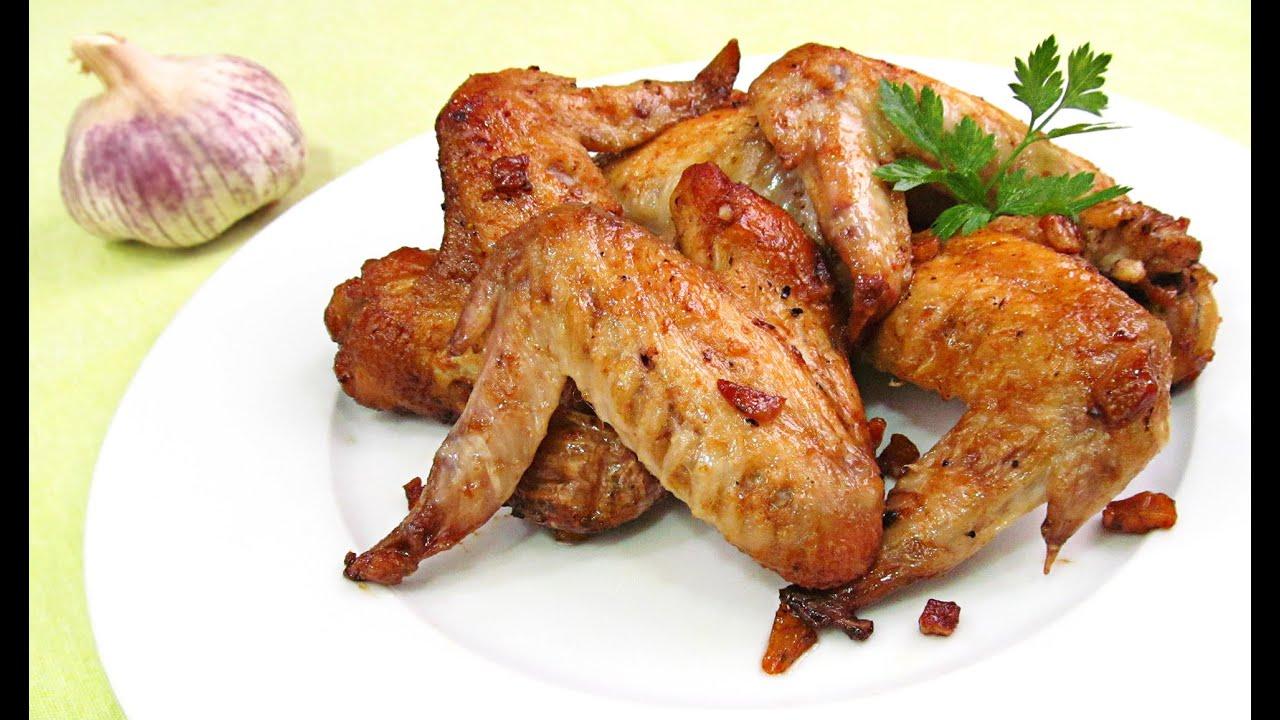 Alitas de pollo al ajillo youtube - Adobo de alitas de pollo ...