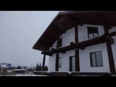 видео: Энергоэффективный дом из соломы