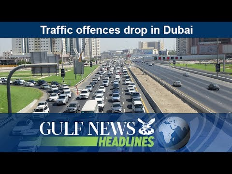 Traffic offences drop in Dubai  - GN Headlines