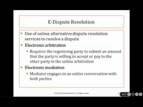 Business Law I: Lecture 2, Chapter 3