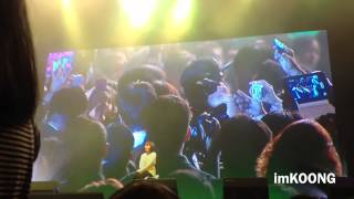 (fancam) Joongki called Lucky Fan In Fan Meeting In Thailand