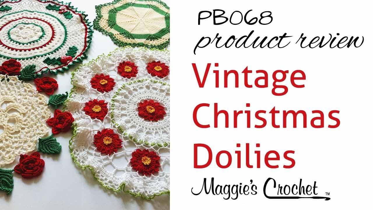 Vintage Christmas Doilies Crochet Pattern Product Review PB068 ...