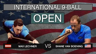 THE MOST INSANE MATCH OF THE CENTURY | Max Lechner - Shane Van Boening | US International Open 2019