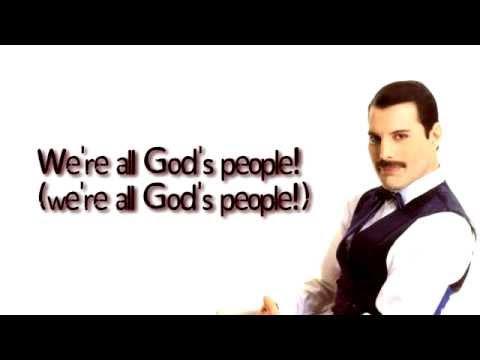 Queen - All God's People (LYRICS)