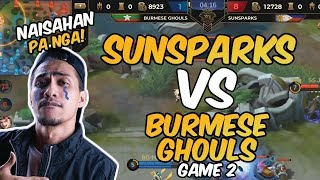 NAISAHAN PA NGA! - SUNSPARKS VS BURMESE GHOULS - GAME 2