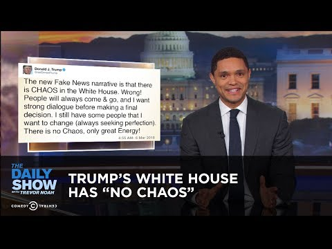 "Trump's White House Has ""No Chaos"" 